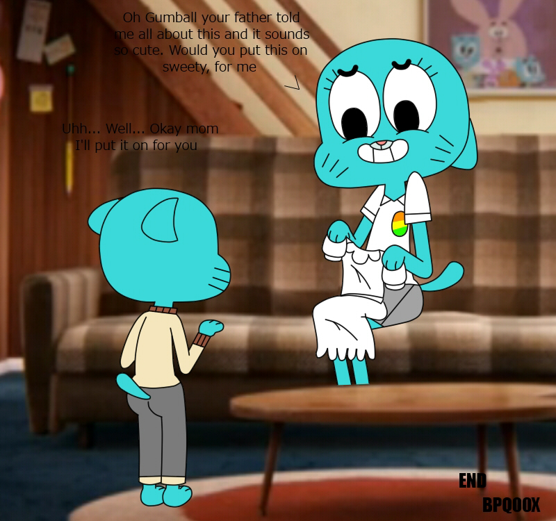 the gumball world of amazing leslie No game no life stephanie gif