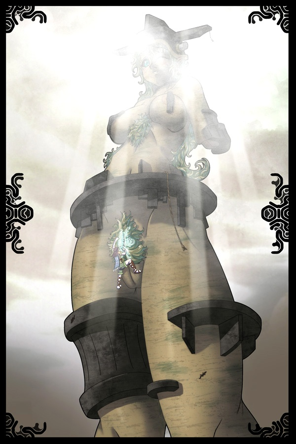 malus of the shadow colossus Miku darling in the frankxx