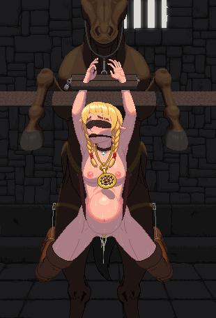 deprivation bondage gag blindfold hentai sensory Hell and back