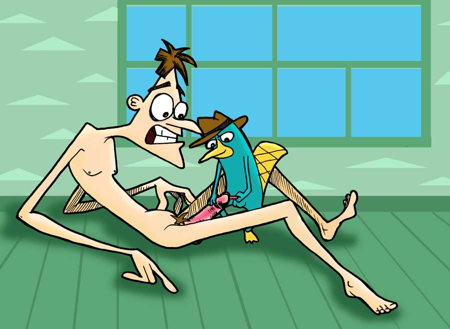 sex ferb and nude phineas Nyarko-san another crawling chaos