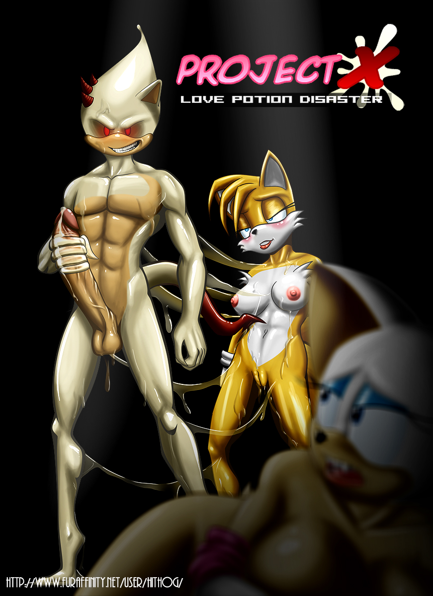 disaster potion sonic x love All the way through xxx