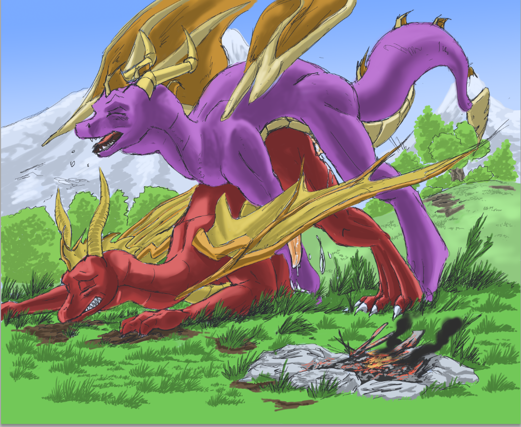 dragon human spyro fanfiction the in Change! ~ano musume ni natte kunkun peropero~