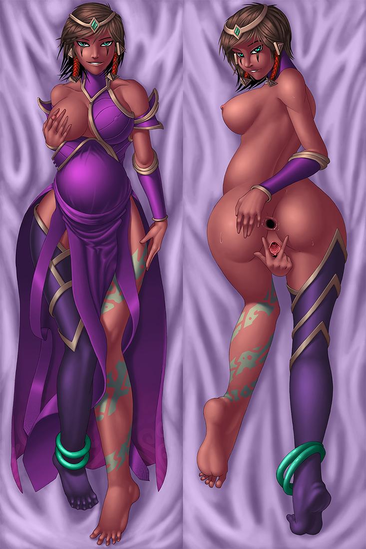 nudes krepo legends league of Legend of jenny and renamon
