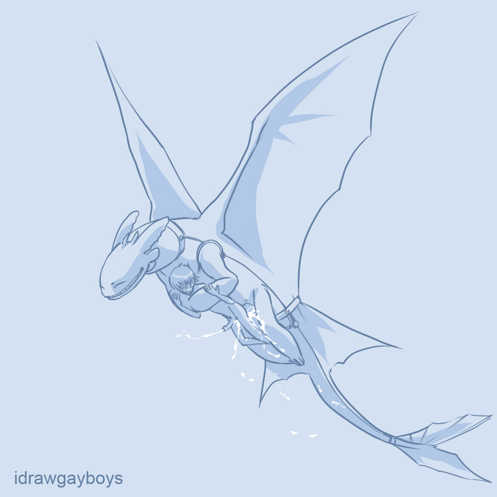 dragon to yaoi how your train Pirates of dark water dark dweller