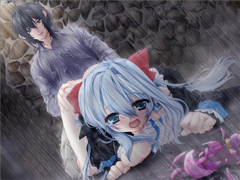 nai: wa the under tsubasa oretachi ni innocent sky Raven from teen titans go naked