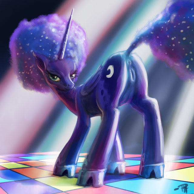 little pony of pictures luna my from Yami no boushi to hon no tabibito