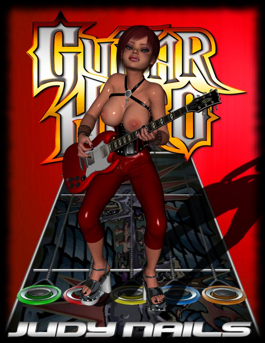 guitar hero judy 3 nails Hazbin hotel cherri bomb porn