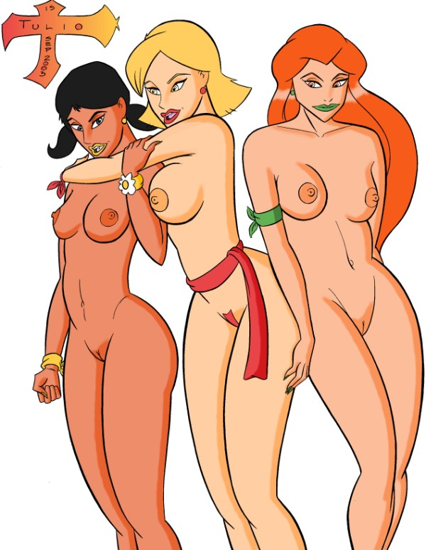 spies totally spies spies vs Big mac from my little pony