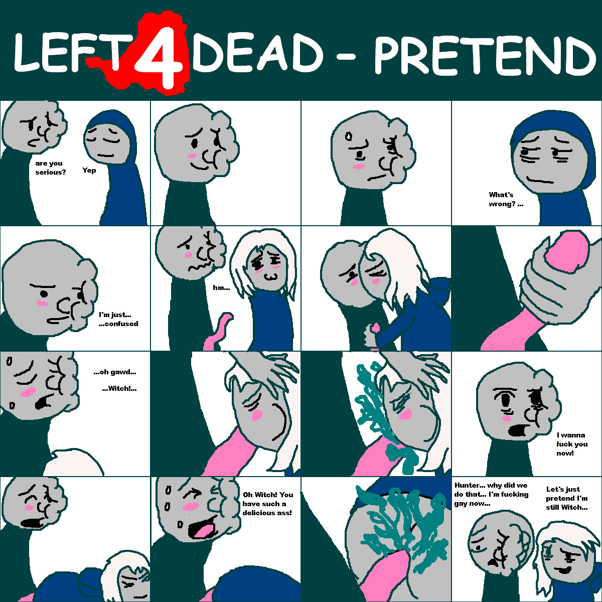 left 2 dead witches for Female wage gap