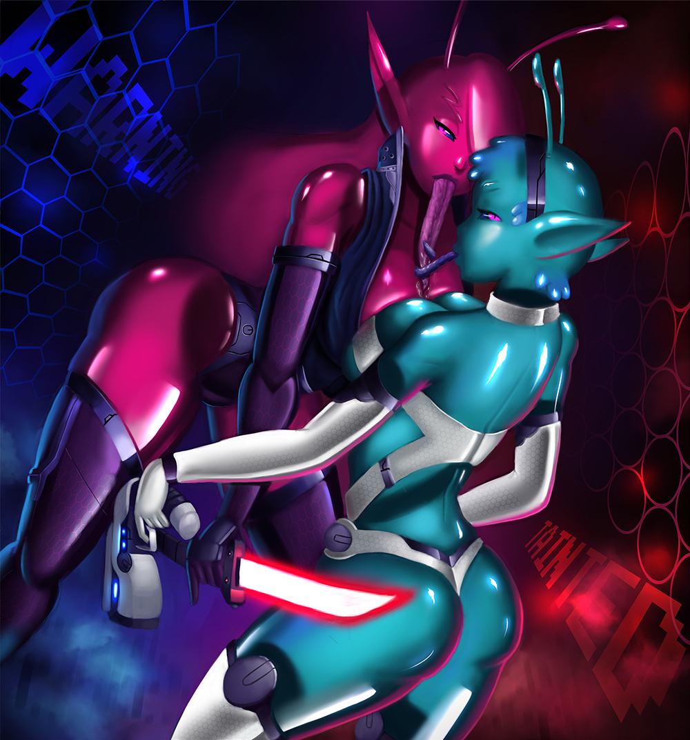 tainted trials in space armor goo Naruto fem kyuubi lemon fanfiction