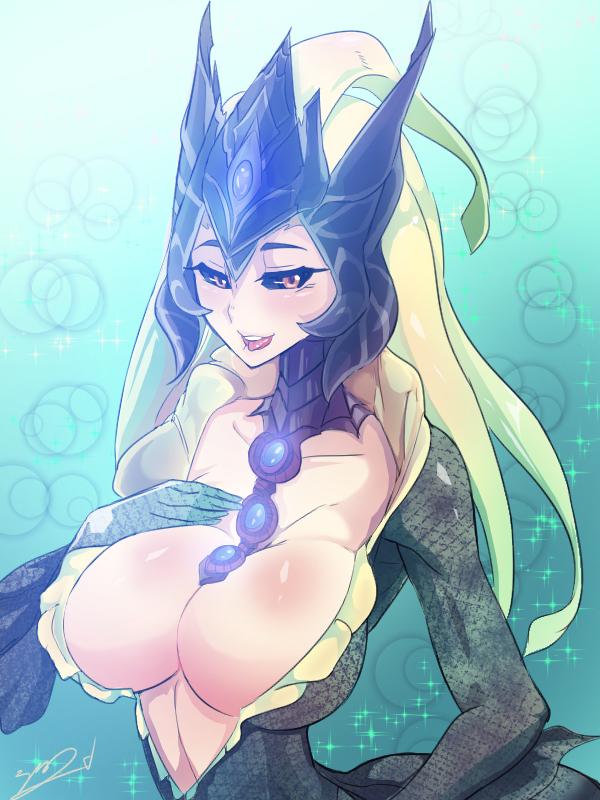 league is how nami of legends old Yumi (senran kagura)