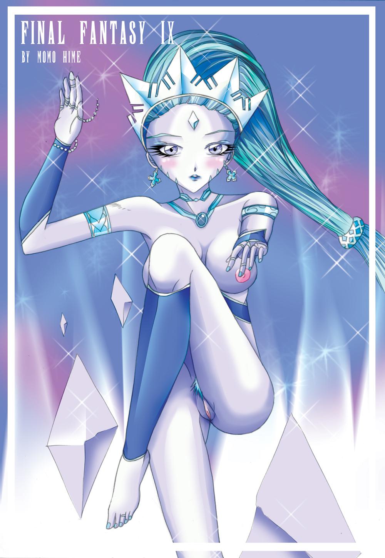 fantasy final 3 princess sara Android 18 dragon ball z