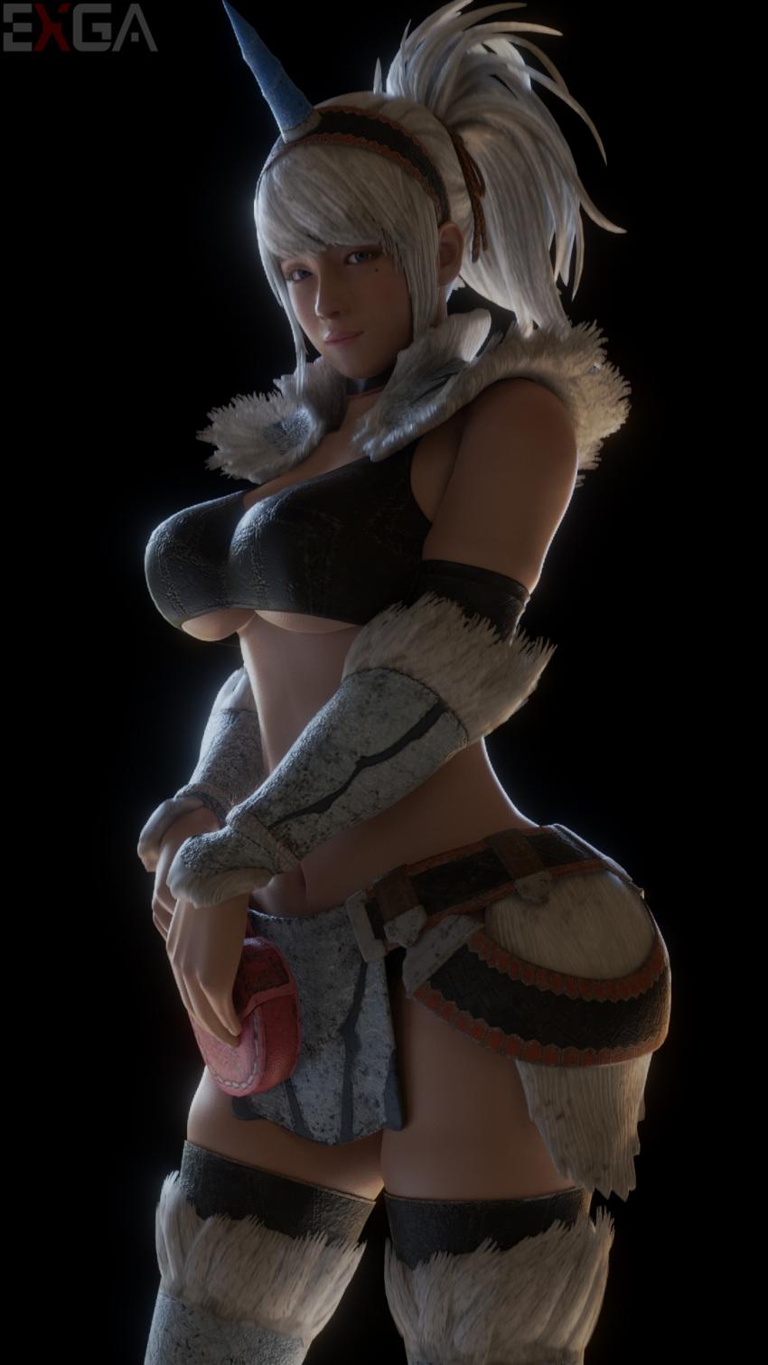 world hunter kirin monster armor Mom and sister are queen size sluts