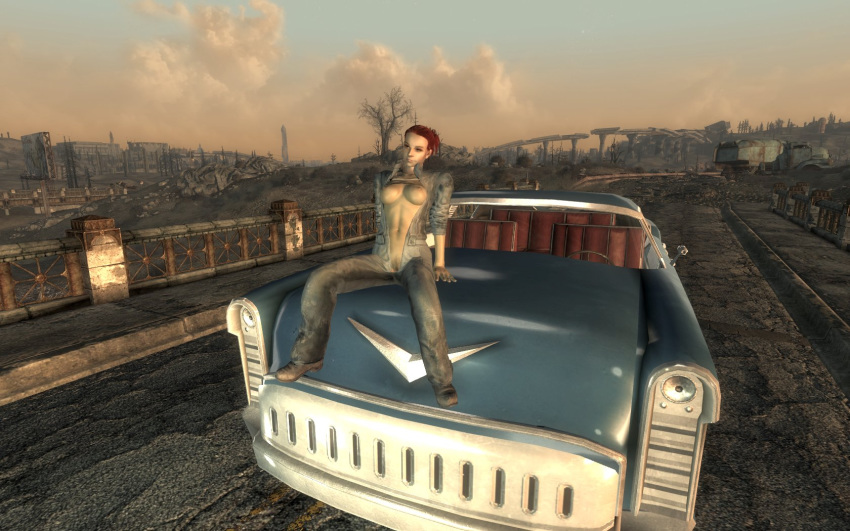 mod nude fallout 4 female Lunette from big comfy couch