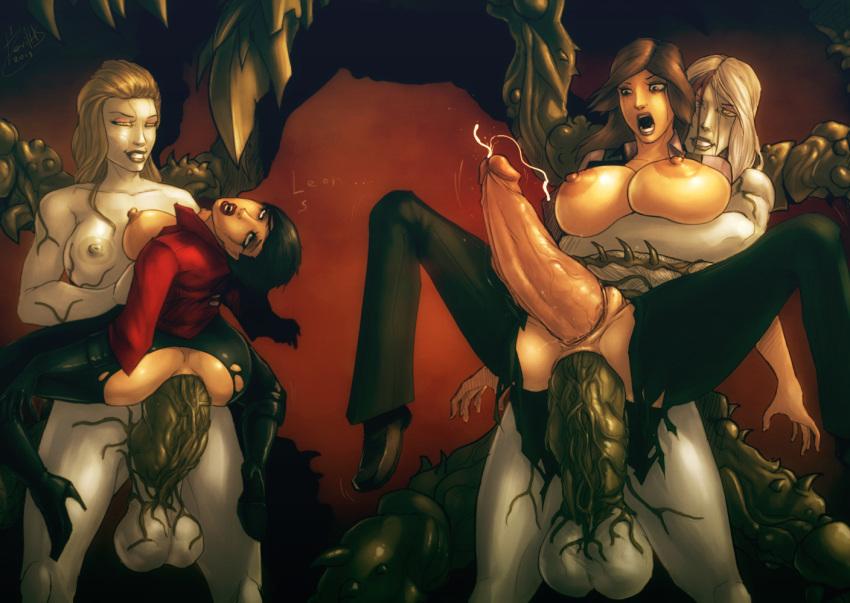 6 ada resident nude evil wong Haruka (senran kagura)