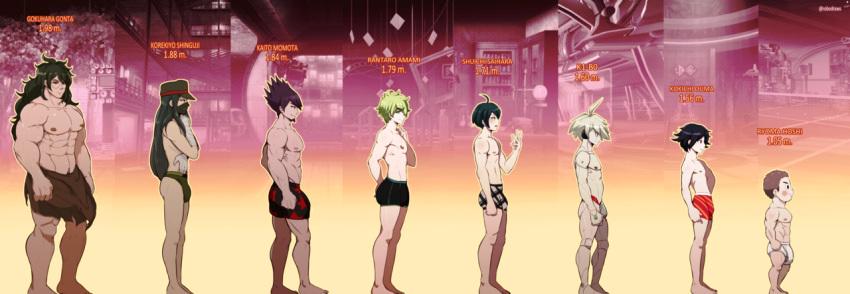 tall ouma kokichi how is Shion that time i got reincarnated
