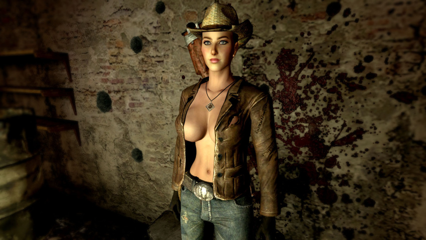 fallout cass vegas nude new How old is wendy's mascot