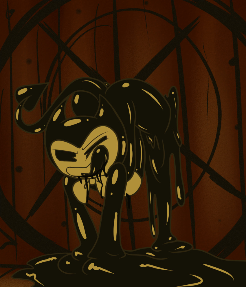 the alice ink machine the bendy angle and What anime is liru from