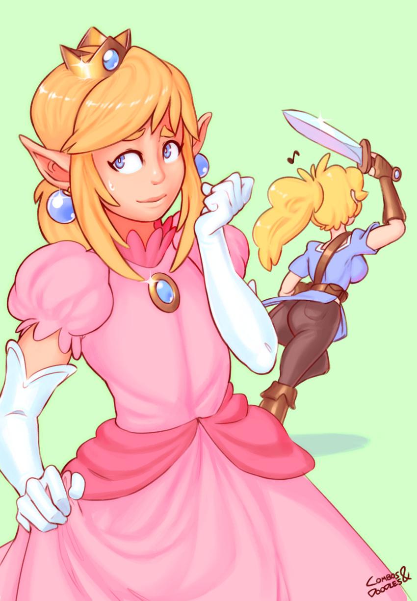 rosalina and princess daisy peach Lobotomy corporation knight of despair