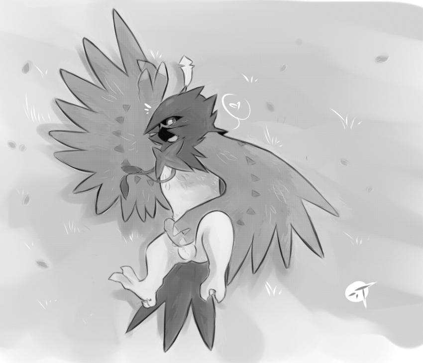 and brother birds grows sun grass shines fly Demi-chan wa kataritai,