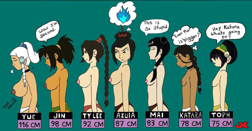 last toph naked the airbender avatar Human male x female furry